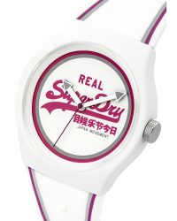 Superdry White Watch SYG198WR