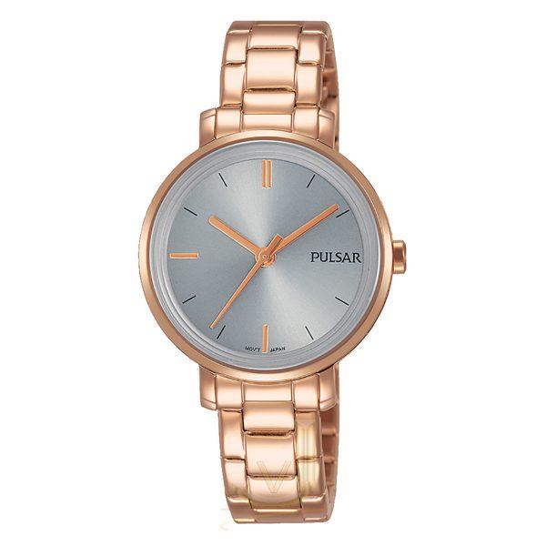 Pulsar Ladies Rose Gold Watch PH8362X1