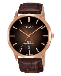 Pulsar Rose Gold Gents Watch PS9534X1