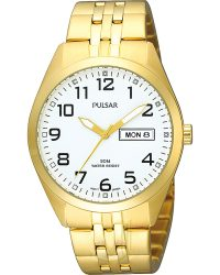 Pulsar Gents Day Date Watch PV3006X1