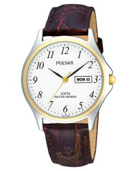 Pulsar Gents Day Date Watch PXF294X1