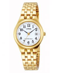 Lorus gold bracelet Ladies watch RH786AX9