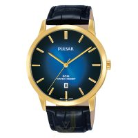 PS9532X1 Pulsar Gents leather strap Watch
