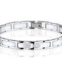 Bering Ceramic Link Bracelet 612-15-185