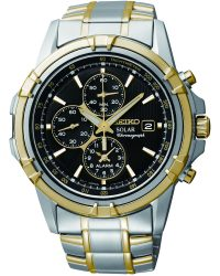 SSC142P1 Seiko Chronograph Alarm Solar Watch