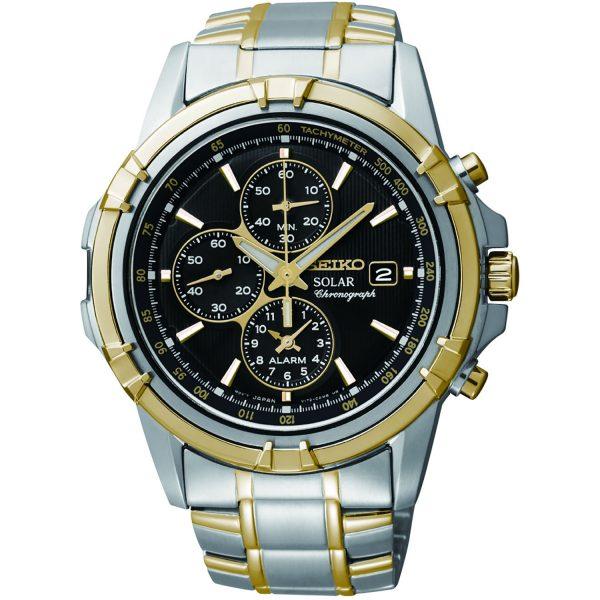 SSC142P1 Seiko Chronograph Alarm Solar Watch