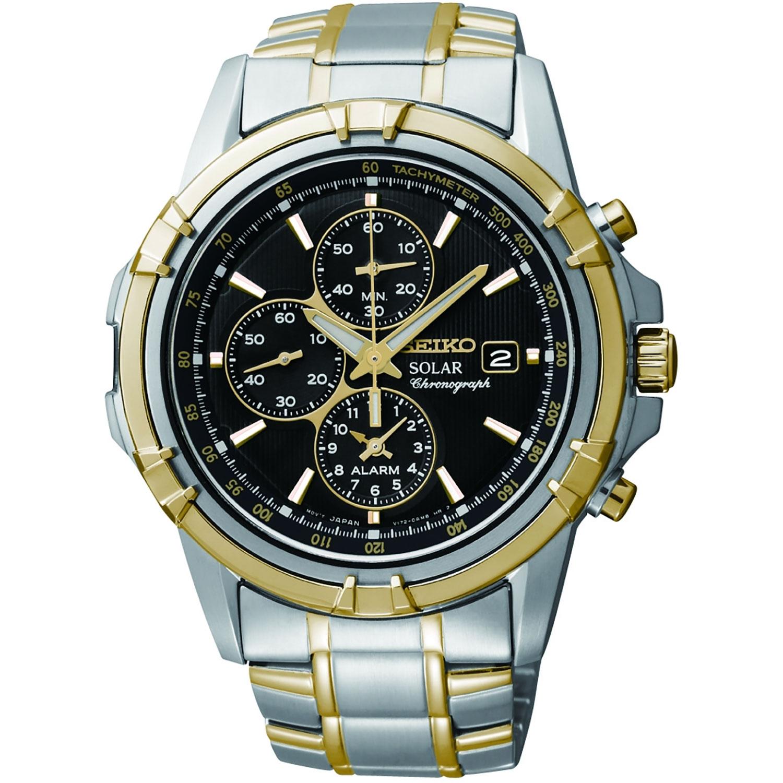Ssc142p1 Seiko Chronograph Alarm Solar Watch Vinson Jewellers