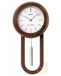 Seiko Wooden Wall Chiming Clock QXH057B