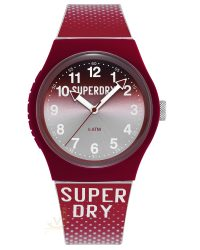 Superdry Laser Red Watch SYG008R