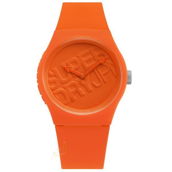 Superdry Orange Watch SYG015O