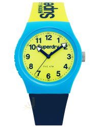Superdry Yellow Blue watch SYG164UNA