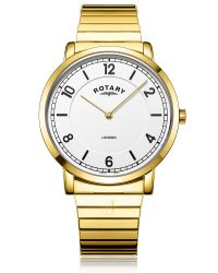 GB02766/18 Rotary Gold PVD Expandable Watch
