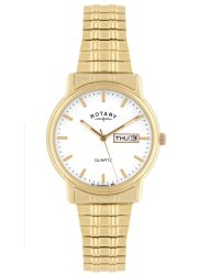 GBI02764/08 Rotary Gents Expandable Bracelet Watch