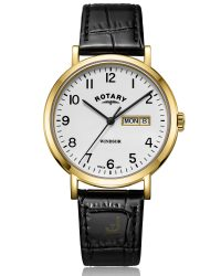 GS05303/18 Rotary Windsor Gents Watch