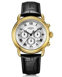 GS05333/21 Rotary Gold Canterbury Chronograph