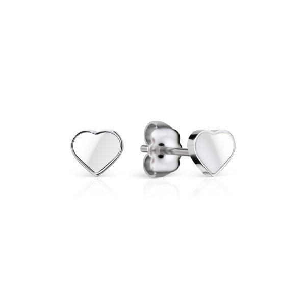 Bering | Ceramic Link | polished silver | 704-15-05