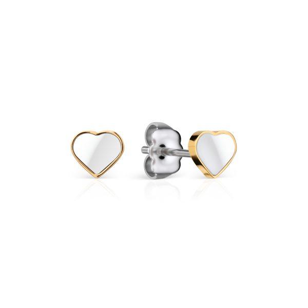 Bering | Ceramic Link | polished gold | 704-25-05
