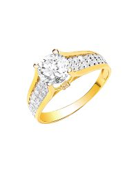 Ladies Single Stone Ring R0634