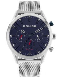 Police Silfra Dual Time Watch 16021JS/03MM