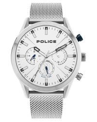 Police Silfra Dual Time Watch 16021JS/04MM