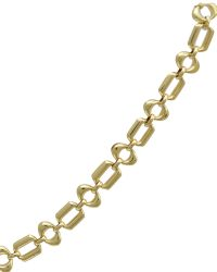 18ct Gold Fancy Bracelet ABCH18-0021B