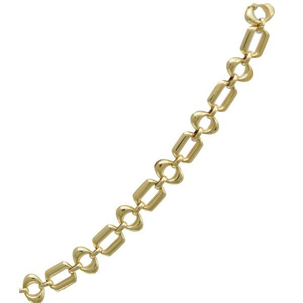 18ct Gold Fancy Bracelet ABCH18-0021B