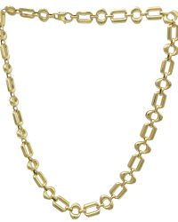 18ct Gold Fancy Necklace ABCH18-0021N