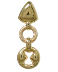 18ct Drop Earrings ABC2-OS-18CT