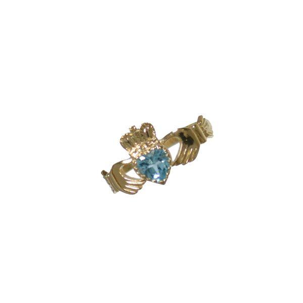 Heart BT Claddagh Ring GC374BT