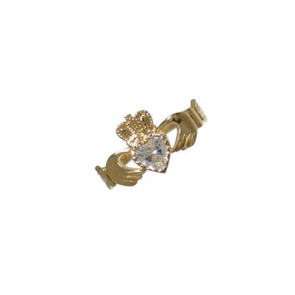 Heart Claddagh Ring GC374CZ