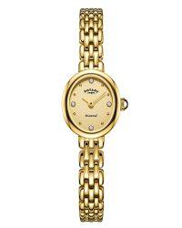 Rotary Diamond-set ladies-watch LB05151/03/D