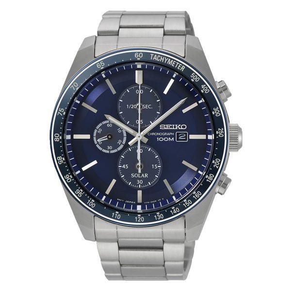 SSC719P1 Seiko Chronograph solar Gents Watch
