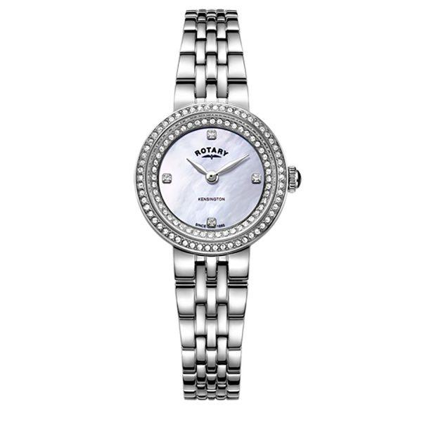LB05370/41 Rotary Kensington-Crystal-set Watch